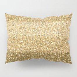 Glitter Glittery Copper Bronze Gold Pillow Sham