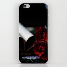 my love is like a red, red rose iPhone & iPod Skin
