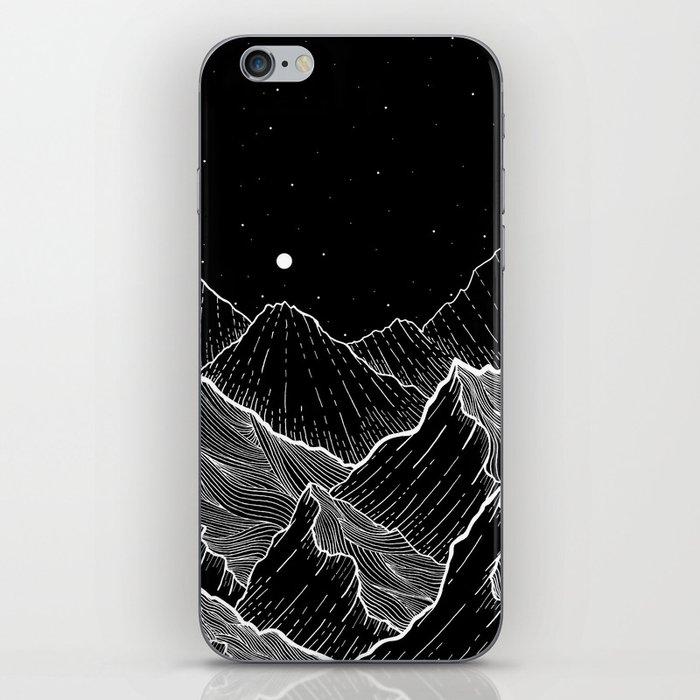 Sea mountains iPhone Skin