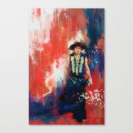 The Masked Bandit Canvas Print