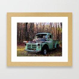 good ol' truck Framed Art Print