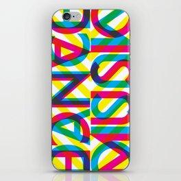 Dance Music iPhone Skin