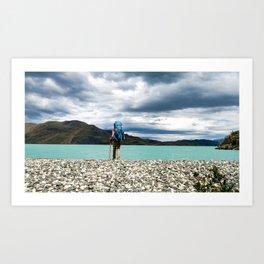 Patagonia Lake Shores Art Print