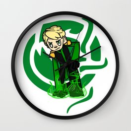 Green Lloyd Wall Clock