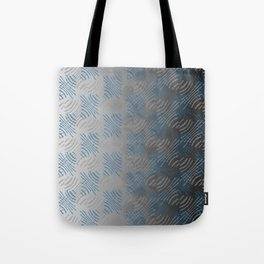 Pinched Lines Tote Bag