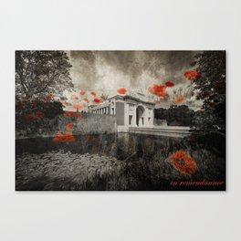 Menin Remembrance Canvas Print