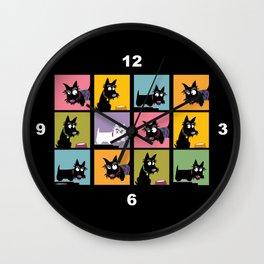 Different Scottie Wall Clock
