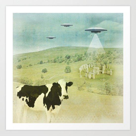 Return to Stonehenge Art Print