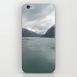 Looking out Endicott Arm iPhone Skin