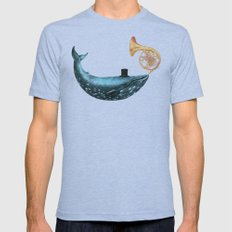 Cloud Maker  Tri-Blue SMALL Mens Fitted Tee