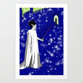 Queen of Swords Art Print