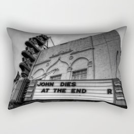 The Texas Theatre Rectangular Pillow