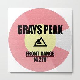 Grays Peak Metal Print