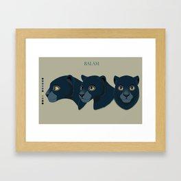 Balam concept Framed Art Print