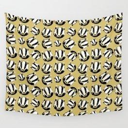 Magic cute Badger Wall Tapestry