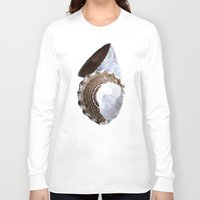 shells Long Sleeve T-shirts featuring Shells by Jan4insight