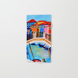 Colors of Venice Italy Hand & Bath Towel