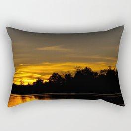 Autumn Sunset Rectangular Pillow