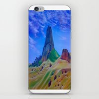 mountain iPhone & iPod Skins featuring Mountain by ArtSchool