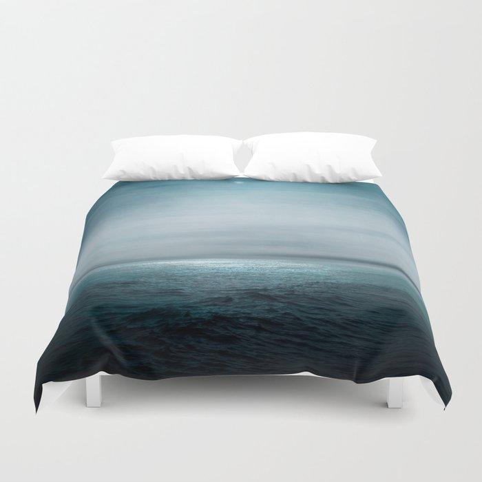 Sea Under Moonlight Duvet Cover