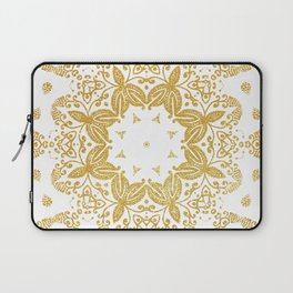 Golden mandala Laptop Sleeve