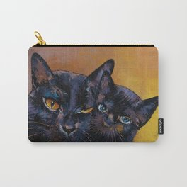 Bombay Cat with Kitten Carry-All Pouch