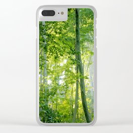 MM - Sunny forest Clear iPhone Case
