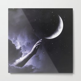Touch the moon Metal Print