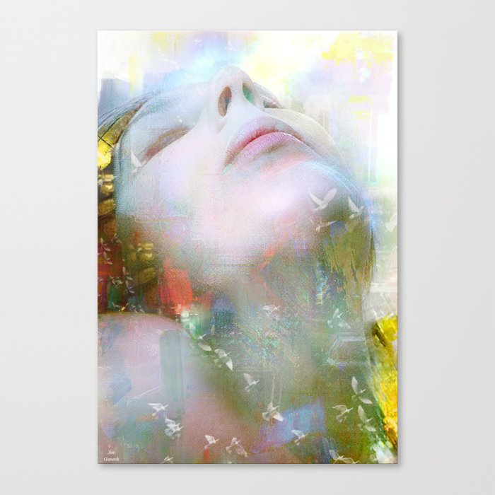 Melody of you Canvas Print