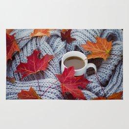 autumn coffee Rug