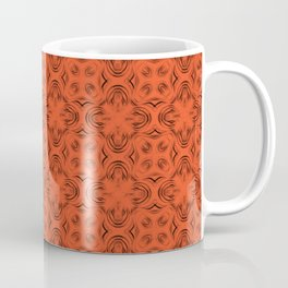 Flame Shadows Coffee Mug