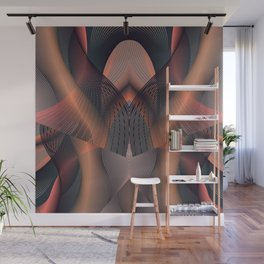 Copper Wall Mural