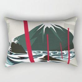 Breaking the Waves II Rectangular Pillow