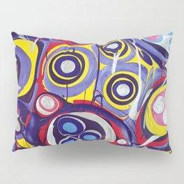 Chaos - acrylic painting Pillow Sham