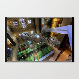 Star Projector Canvas Print