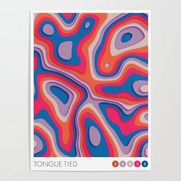 i'm tongue tied Poster