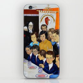 The Breakfast of the First Communion El Desayuno Juan Manuel Rocha Kinkin iPhone Skin
