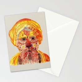 Nepalese Man by Tarachand Stationery Cards