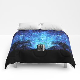 Lonely Tardis Doctor who Art painting iPhone 4 4s 5 5c 6, pillow case, mugs and tshirt Comforters