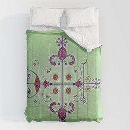 Voodoo Symbol Papa Legba Comforters