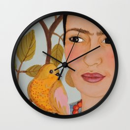 viva Frida Wall Clock