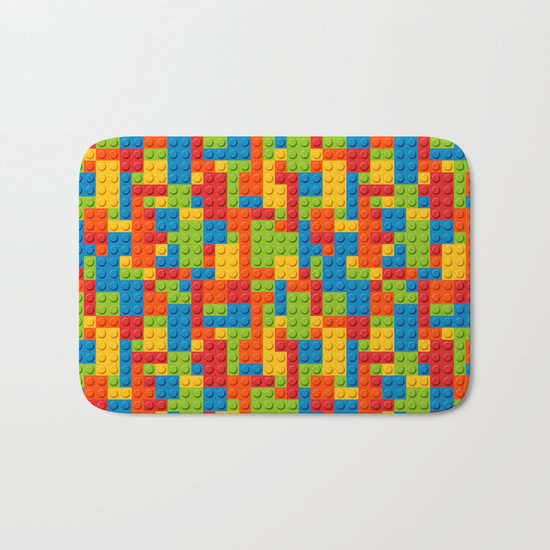 Bricks Bath Mat
