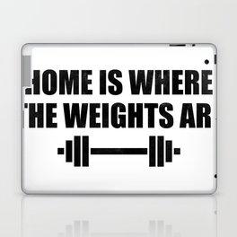 At Home Gym Laptop & iPad Skin