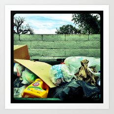 Trash. Art Print