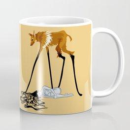 Fox & Girl Coffee Mug