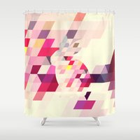 bunny Shower Curtains featuring Bunny by Dnzsea