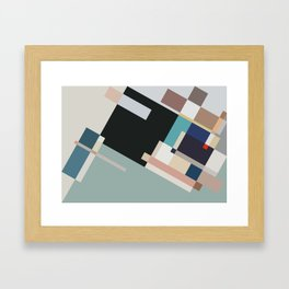 Color and Composition Study Framed Art Print