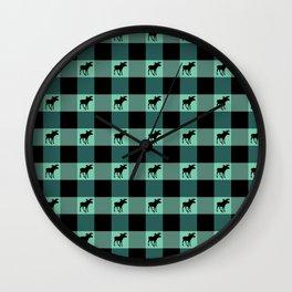 MOOSE CHECK Wall Clock