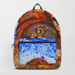 Winter's Nest #society6   #decor #buy art Backpack