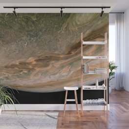Surface and storms of Planet Jupiter Wall Mural